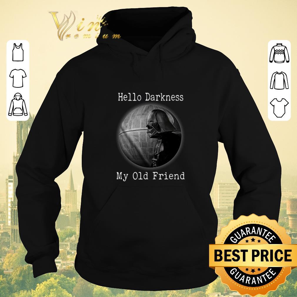 Top Darth Vader Hello Darkness My Old Friend Death Star shirt sweater 4 - Top Darth Vader Hello Darkness My Old Friend Death Star shirt sweater