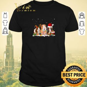 Top Santa Christmas Guinea Pig shirt