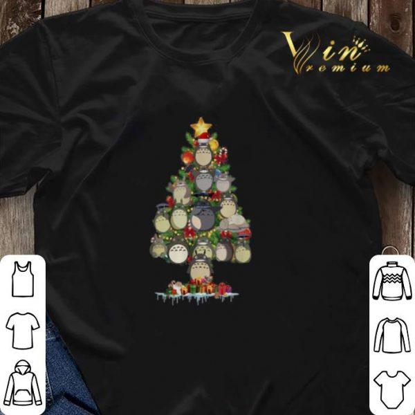 Toroto Christmas tree Studio Ghibli shirt sweater