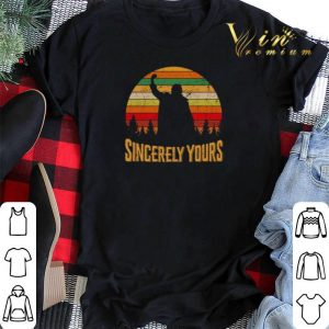 Vintage Sincerely yours shirt
