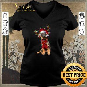 Awesome Christmas German Shepherd Reindeer shirt