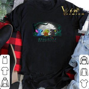 Baby Yoda Baby Stitch and Baby Toothless Disney shirt sweater