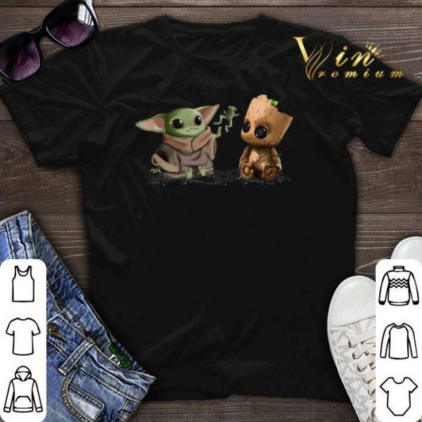 Baby Yoda frog Baby Groot shirt sweater