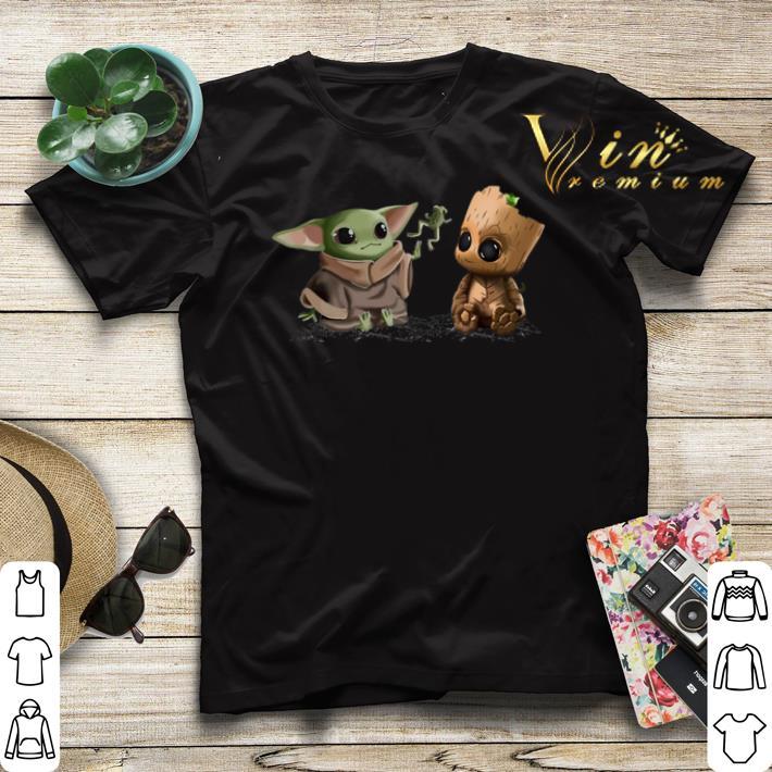 Baby Yoda frog Baby Groot shirt sweater 4 - Baby Yoda frog Baby Groot shirt sweater