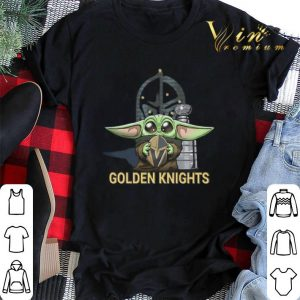 Baby Yoda hug Vegas Golden Knights Star Wars Mandalorian shirt sweater