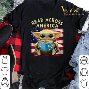 Baby Yoda read across America flag shirt sweater