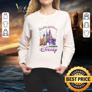 Cool I'm Done Nursing I'm Going To Disney Colors shirt