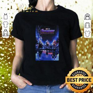 Cool Marvel Avengers Endgame Thor Captain America and Iron man shirt