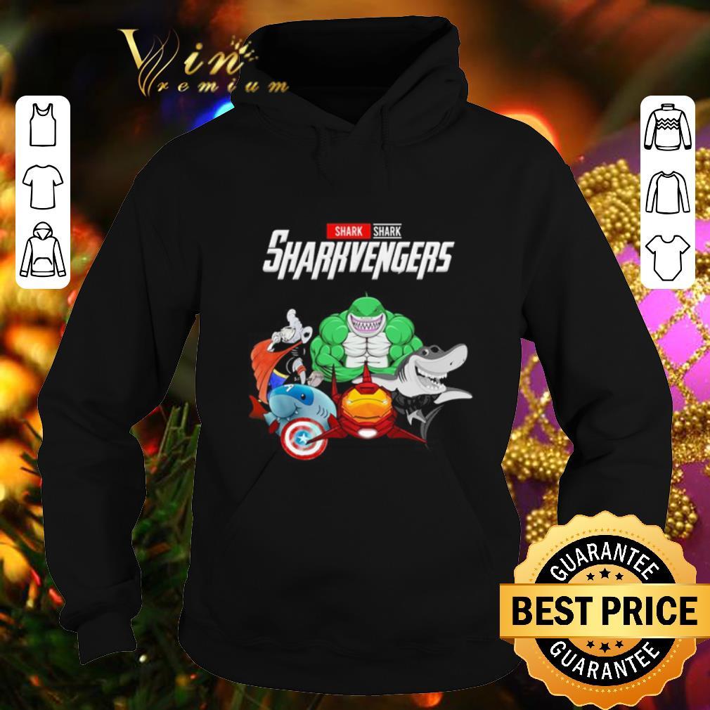 Cool Shark Sharkvengers Marvel Avengers Endgame shirt 4 - Cool Shark Sharkvengers Marvel Avengers Endgame shirt