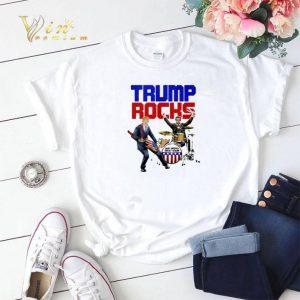 Donald Trump Rocks make America great again shirt sweater
