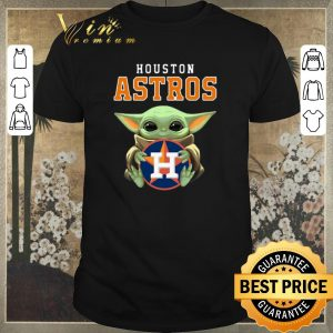 Funny Baby Yoda Hug Houston Astros Logo shirt sweater