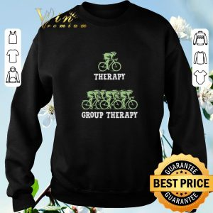 Funny Bicycle group therapy shirt sweater 2