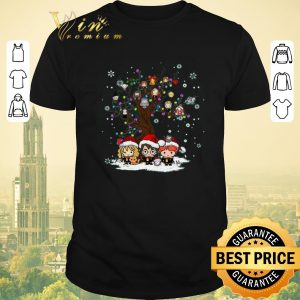 Funny Christmas Harry Potter characters tree of life Snowflakes shirt