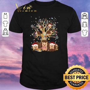 Funny Hedgehogs Santa Christmas Tree Ornament shirt sweater