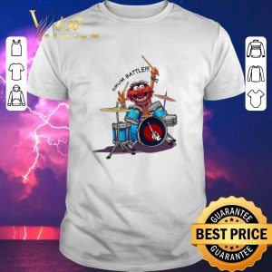Funny The Muppets Drummer Battle shirt sweater