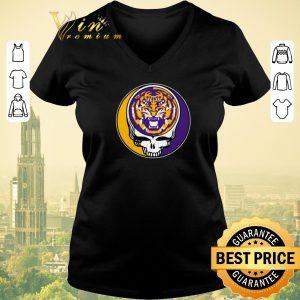 Funny lsu tigers grateful dead logo shirt sweater