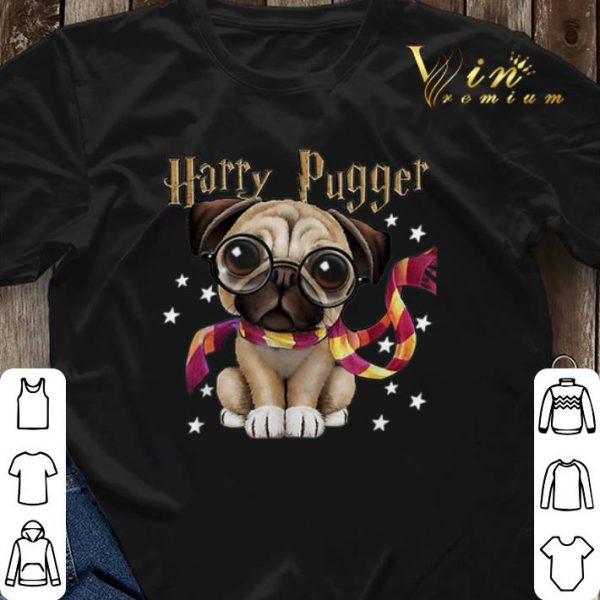 Harry Potter Harry Pugger Pug dog Mashup shirt