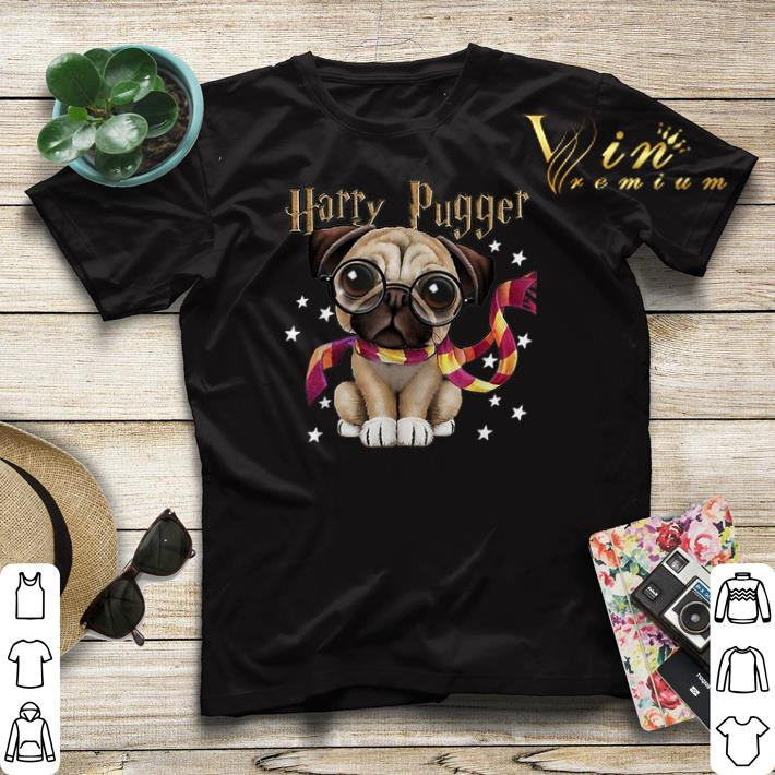 Harry Potter Harry Pugger Pug dog Mashup shirt 4 - Harry Potter Harry Pugger Pug dog Mashup shirt