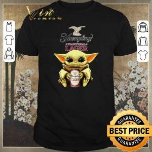 Hot Baby Yoda Hug Yuengling Lager Beer Star Wars shirt sweater