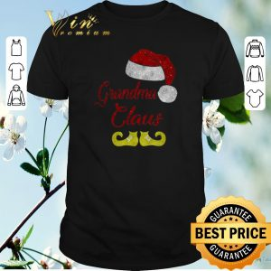 Hot Christmas Grandma Claus Santa Hat shirt
