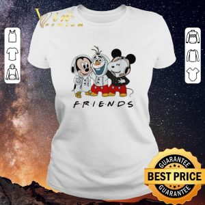 Hot Mickey Olaf and Snoopy Friends shirt sweater