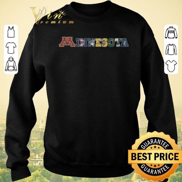 Hot Minnesota sports teams Minnesota Golden Gophers and Vikings shirt sweater