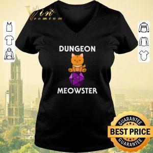 Hot Nerdy Cat Dungeon Meowster D20 shirt sweater