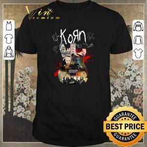 Hot Signature Korn guitar all shirt