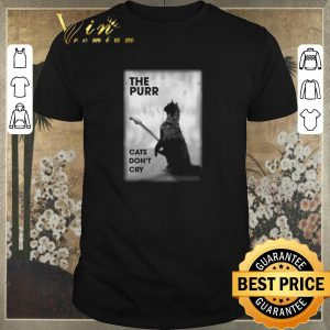 Hot The purr cats don't cry guitar shirt sweater