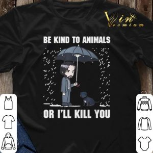 John Wick Be Kind To Animals Or I'll Kill You shirt sweater 2