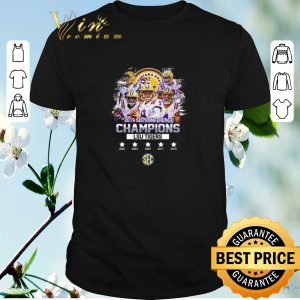 Nice All signature players 2019 Sec Conference Champions LSU Tigers shirt sweater