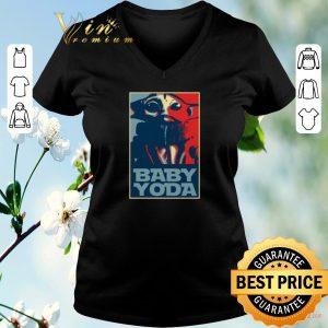 Nice Baby Yoda Art Poster shirt sweater