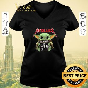 Nice Baby Yoda hug Metallica Star Wars shirt sweater