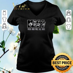 Nice KISS Rock And Roll All Nite shirt sweater