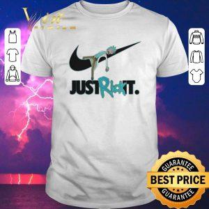 Nice Rick and Morty Nike just Rick it shirt sweater