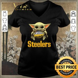 Nice Star Wars Baby Yoda Pittsburgh Steelers NFL ball shirt