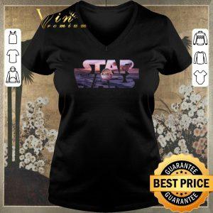 Nice Star Wars The Mandalorian Razor Crest Floating Pod Logo shirt sweater