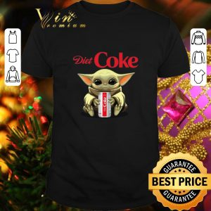 Official Baby Yoda hug Diet Coke Star Wars Mandalorian shirt