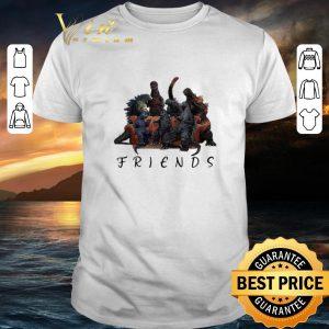 Official Godzilla Friends all godzillas movies shirt
