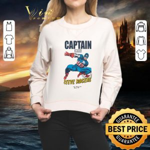 Official Marvel Avengers Captain America Steve Rogers shirt