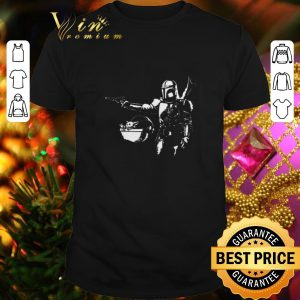 Official Pulp Fiction Pulp Mando The Mandalorian Baby Yoda shirt