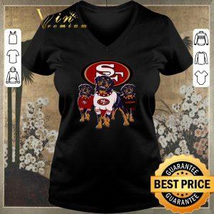 Official Rottweiler dogs San Francisco 49ers shirt sweater