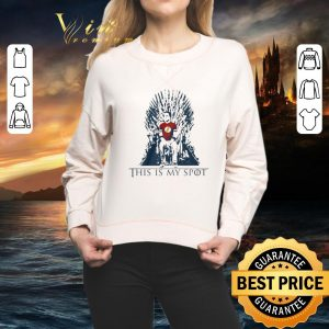 Official The Big Bang Theory Sheldon This Is My Spot Game Of Thrones shirt