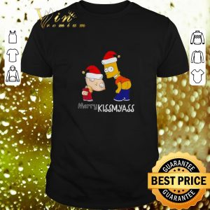 Official The Simpsons Merry Kissmyass Christmas shirt