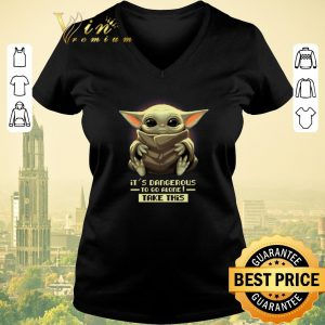 Official it's dangerous to go alone take this Baby Yoda shirt sweater