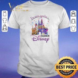 Original I'm Done Nursing I'm Going To Disney Colors shirt sweater