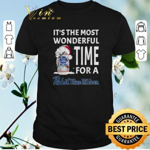 Original It's the most wonderful time for a Pabst Blue Ribbon Christmas shirt sweater