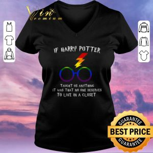 Original LGBT If Harry Potter taught us anything it was that no one shirt sweater