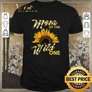 Original Sunflower mom of the wild one shirt sweater