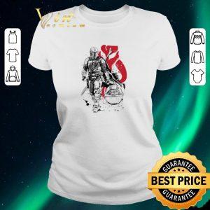 Original The Mandalorian Lone hunter and cub Baby Yoda shirt sweater